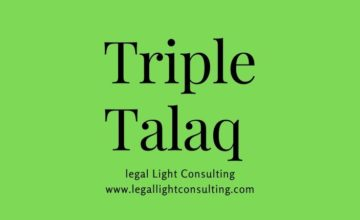 Triple Talaq by legal light consulting com
